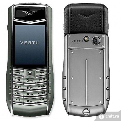 Наушники для мобильного телефона vertu  на 2 сим карты. Фото 1.