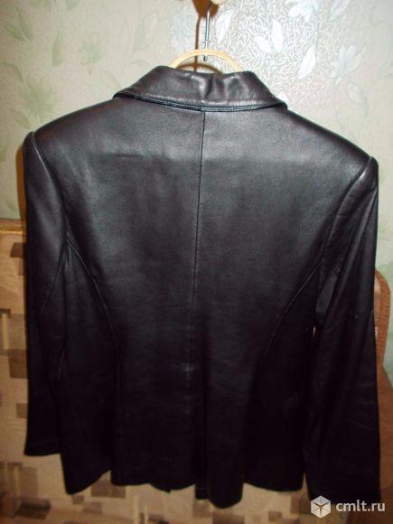 Продам пиджак кожаный женский.. Фото 2.
