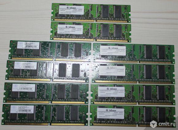 Оригинальная память (озу) DDR 128 Мб 10 шт