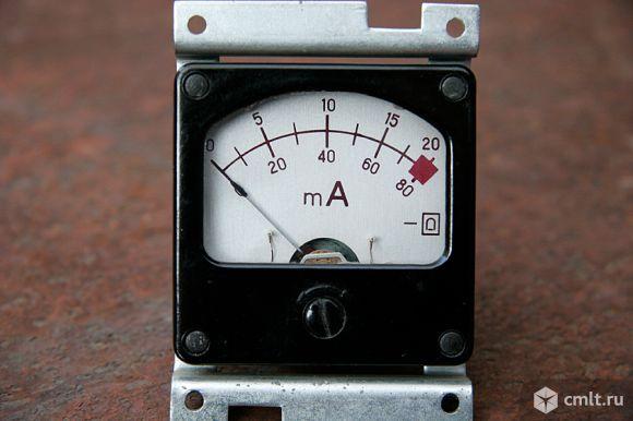Измерительные приборы милли и микроамперметры. Фото 5.