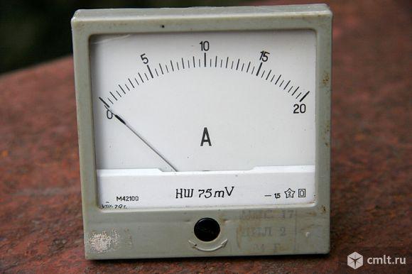 Амперметры милли и микро 1950-х, 60-х, 70-х годов выпуска.. Фото 1.