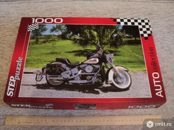 Мотоцикл. Пазлы 1000 элементов. Фото 2.
