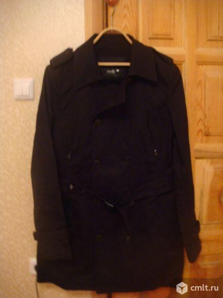 Фирменное котоновое пальто. Фото 1.