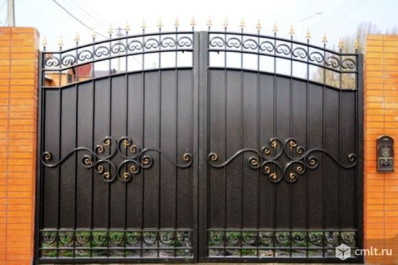 Ворота кованые. Изготовление и установка ворот. Качественное исполнение