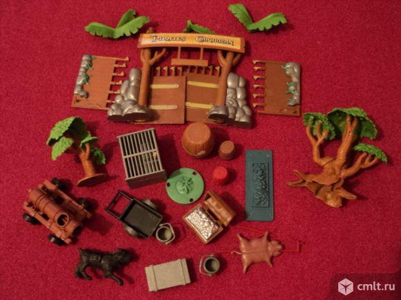 Набор пластиковый для игры в Зоопарк. Фото 5.