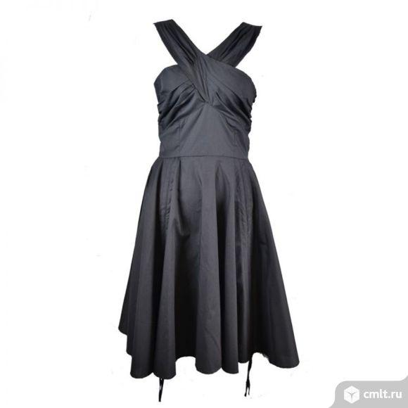 Черное платье готик Vixxsin Англия. Фото 1.