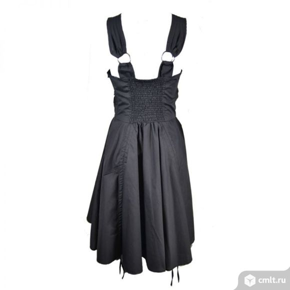 Черное платье готик Vixxsin Англия. Фото 2.