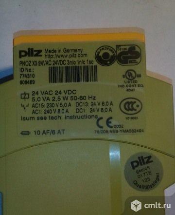 Реле безопасности pilz pnoz X3 24VDC 24VAC