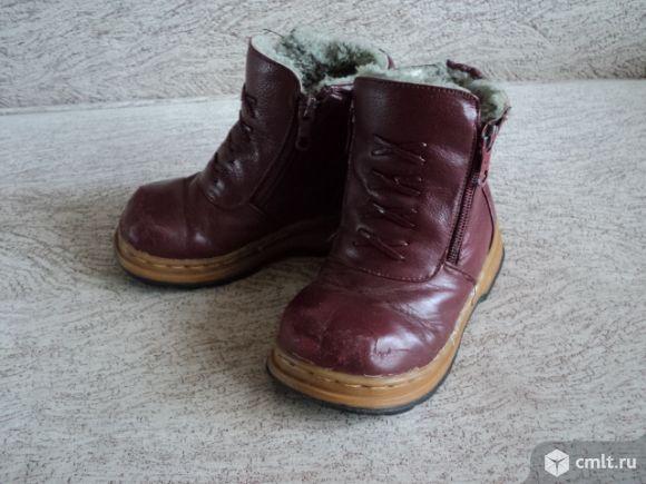 Ботинки полусапоги. Фото 1.