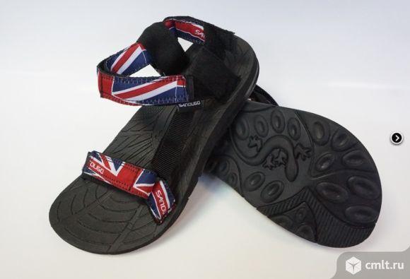 Сандалии экстремальные Sandugo British flag