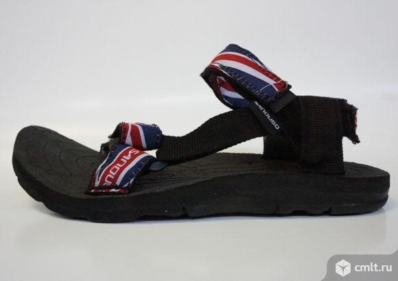 Сандалии экстремальные Sandugo British flag. Фото 4.