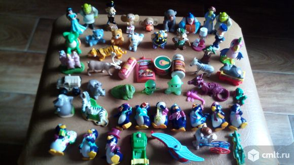 Игрушки из киндера. Фото 5.