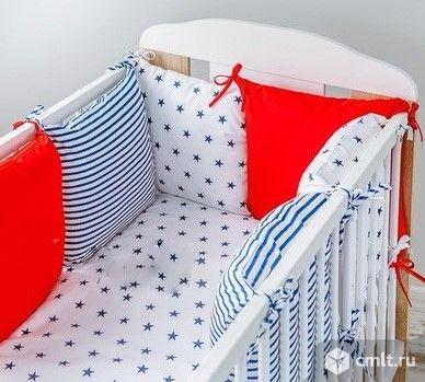Бортики подушечки. Фото 1.