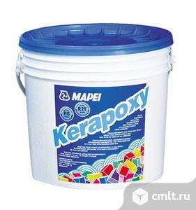 Затирка-клей Kerapoxy №120 черный. Фото 1.