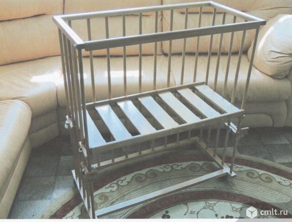 Кроватка для новорожденных прикроватная новая