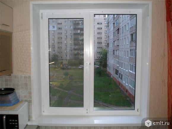 Окна 1.3х1.4 м, ПВХ, открываются, новые, 5 шт., по 5.2 тыс. Фото 1.