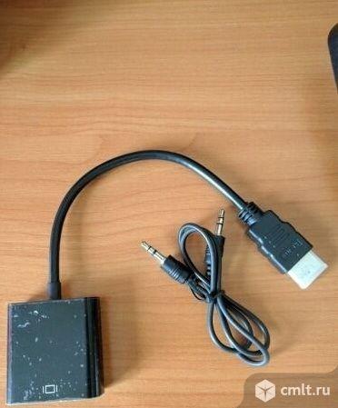 Адаптер hdmi-VGA. Фото 1.