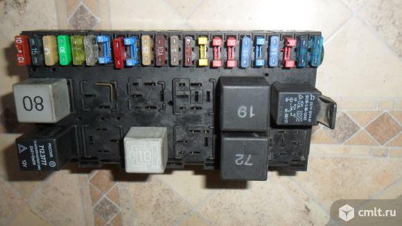 Блок предохранителей. Фото 1.