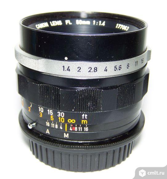 Canon FL 50/1.4, под EOS с бесконечностью, мануальный объектив. Фото 1.