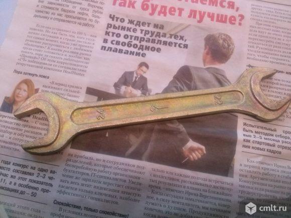 Рожковй ключ 22*24 новый СССР