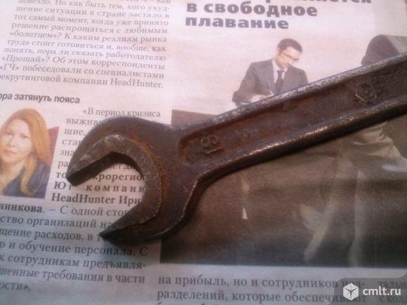 Рожковый ключ 19*22 б/у СССР