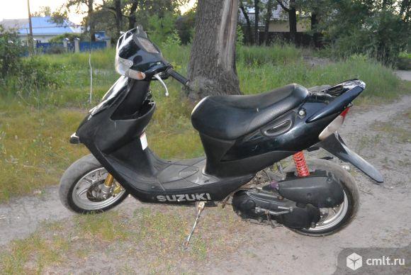 Скутер Suzuki zz тюнинг. Фото 1.
