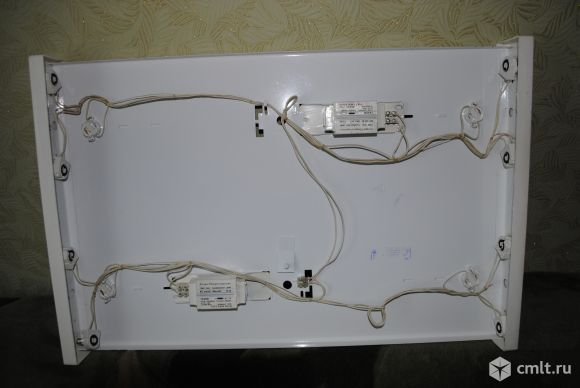 Люминесцентные светильники с лампами