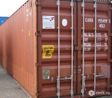 Продам б\у контейнер 40 фут высота 2,6