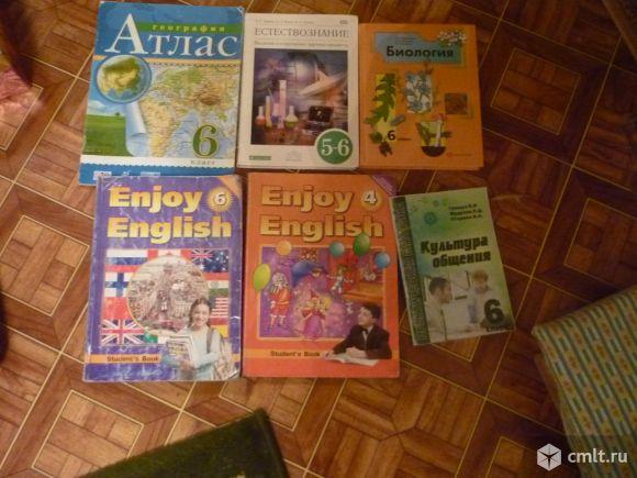 Учебники для 4 и 6 класса
