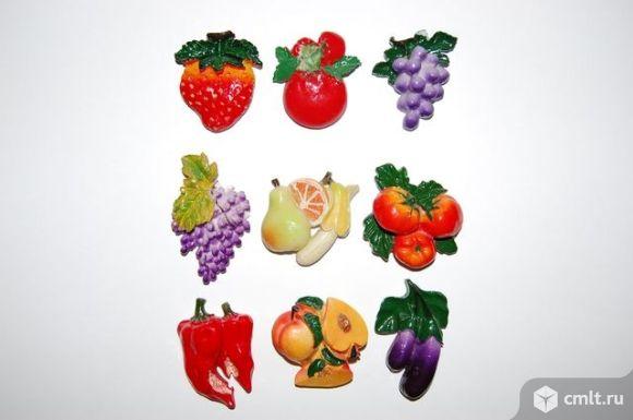 Магнит из полиустона фруктовое ассорти