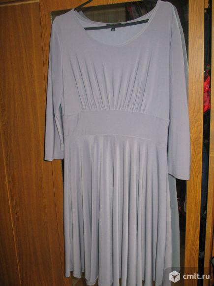 Серое платье состояние нового обмен