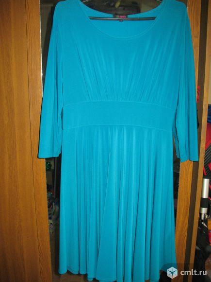 Платье в отличном состоянии обмен. Фото 1.