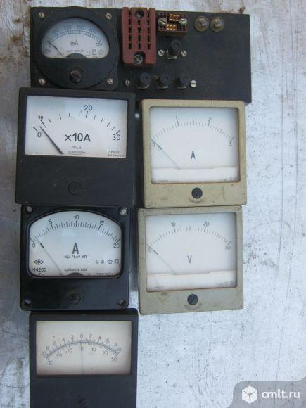 Электроизмерительныеприборы и электролиты