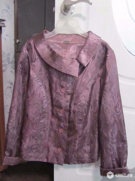 Жакет- блузка 46