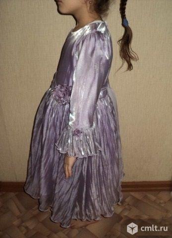 Платье детское с розочкой. Фото 5.