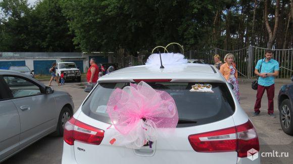 Свадебный комплект на машину