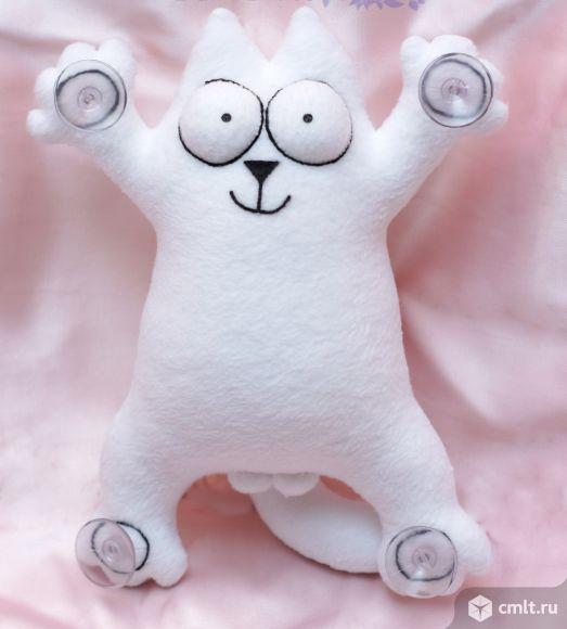 Мягкая игрушка Кот Саймона. Фото 1.