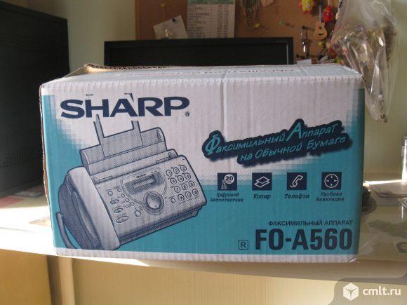 Продам факс новый, работающий на обычной бумаге
