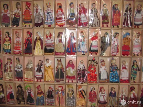 Коллекция кукол фарфоровых. Фото 1.