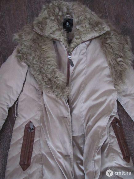 Пуховик - пальто 44