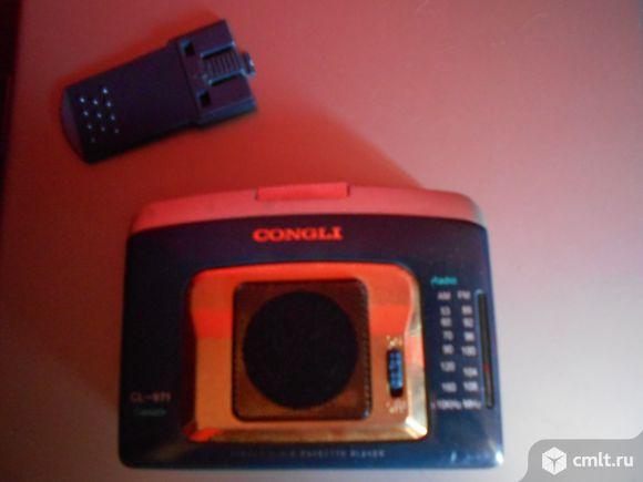 Аудиоплеер кассетный congli cl - 971. Фото 1.