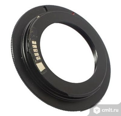 Кольцо (адаптер) М42 для Canon EOS. Фото 1.