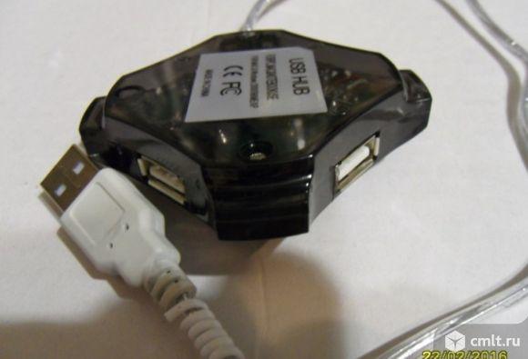 USB 2.0 Hab разветвитель на 4 входа. Фото 4.