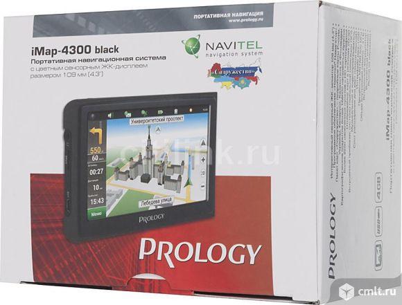 Упаковка и док-ты для gps навигатора prology imap4300. Фото 1.