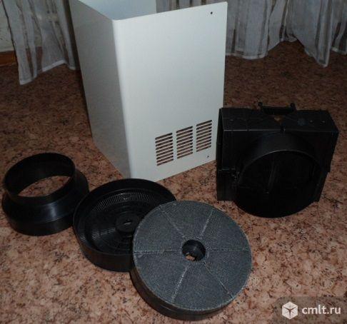 Фильтр и клапан для вытяжки. Фото 1.
