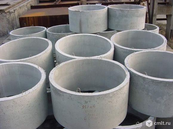 Кольца армированные бетонные водопроводно-канализационные