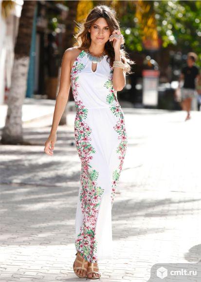 Платье новое летнее maxi. Фото 1.