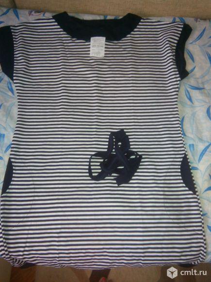 Платье Морячка новое. Фото 1.