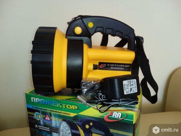 Продаю Фонарь Эра FA37M прожектор светодиодный аккумуляторный, 37 диодов, 220V+12V