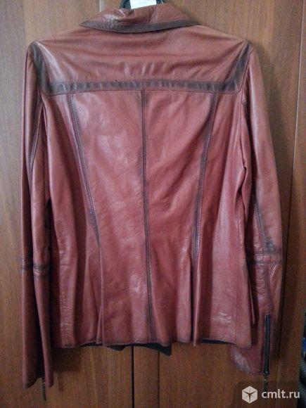 Куртка кожаная новая. Фото 2.